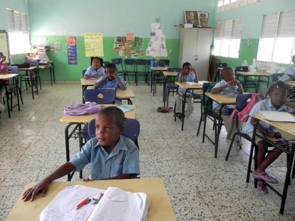 One of the community's concerns is access to education. Mata Los Indios currently functions with only one school teacher.